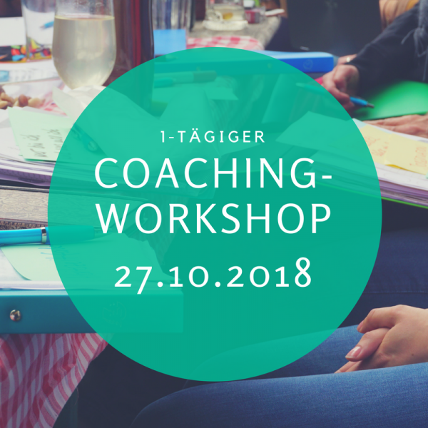 1-tägiger Coaching-Workshop Oktober