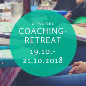 Coaching Retreat Oktober (early bird Angebot bis 14. Sep)