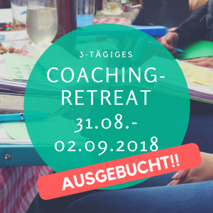 Coaching Retreat 31.8-2.9