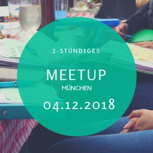 Meetup München Dezember Beruf Veränderung Neuorientierung