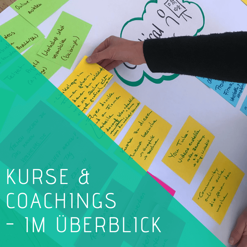 Kurse Coachings Workshops Aha Retreats berufliche Veränderung